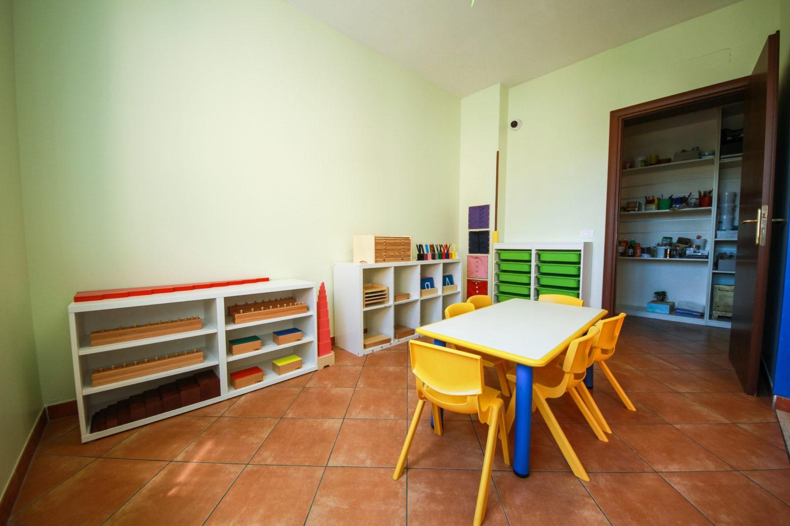 La casa dei bambini Montessori