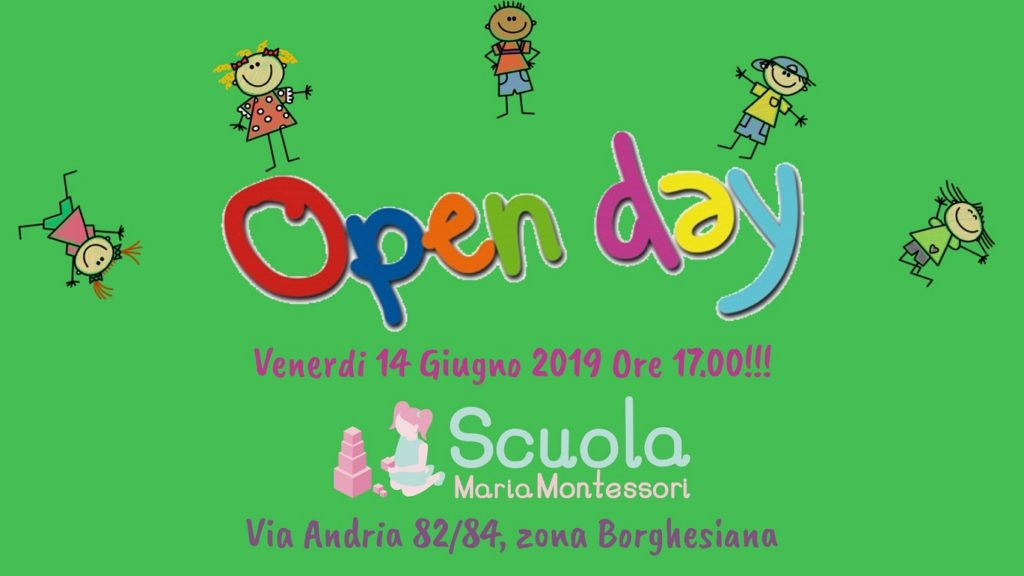Open Day 2019 - Scuola Maria Montessori